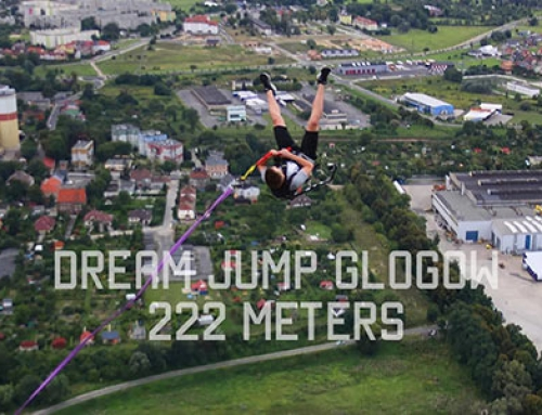 Film – Dream Jump Głogów – skok z 222 metrów