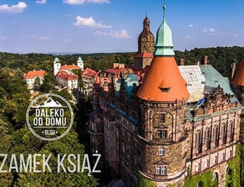 Film – Zamek Książ z drona