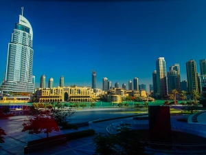 dubaj zdjednoczone emiraty arabskie drapacze chmur