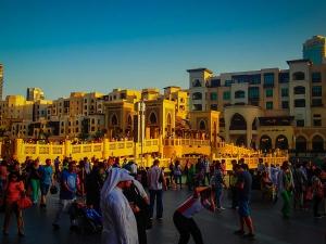 dubaj zdjednoczone emiraty arabskie most