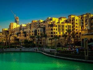 dubaj zdjednoczone emiraty arabskie okolice dubai mall