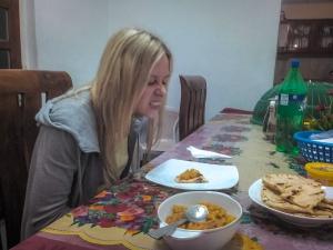 sri lanka nuwara eliya hill view guest inn nocleg jedzenie