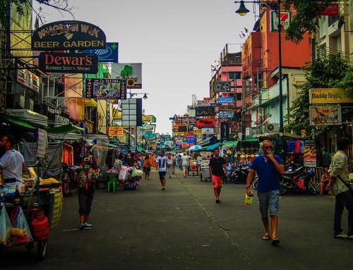 One night in Bangkok na dwóch kółkach