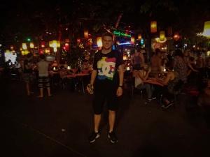 tajlandia bangkok khao san road jedzenie streetfood piwo chang