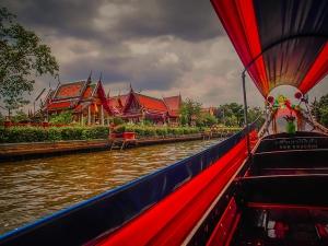 tajlandia bangkok rejs po rzece menam swiatynie