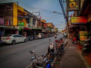 tajlandia chiang mai centrum skutery