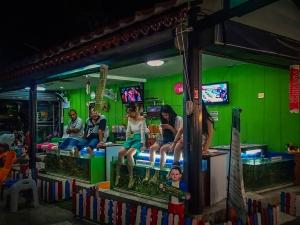 tajlandia chiang mai night bazaar tajski peeling