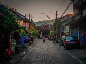tajlandia chiang mai skuter centrum