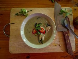 tajlandia chiang mai thai farm cooking school nauka gotowania farma zielone curry