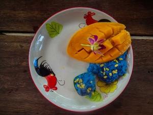 tajlandia chiang mai thai farm cooking school nauka gotowania kleisty ryz z mango