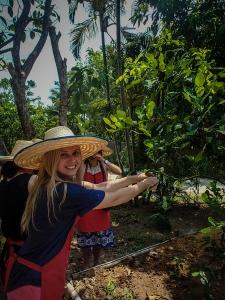 tajlandia chiang mai thai farm cooking school ruamchook market nauka gotowania farma asia