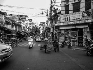 wietnam vietnam hanoi ulica