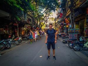 wietnam vietnam hanoi centrum marek