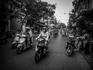 wietnam vietnam hanoi skutery