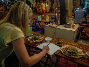 wietnam vietnam hanoi streetfood jedzenie na ulicy blog