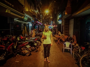 wietnam vietnam hanoi uliczki