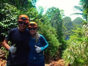 wietnam vietnam tu lan caves jaskinia tu lan phong nha ke bang oxalis trekking dżungla