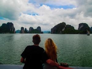 wietnam vietnam zatoka ha long łódź daleko od domu