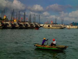 wietnam vietnam zatoka ha long łódź