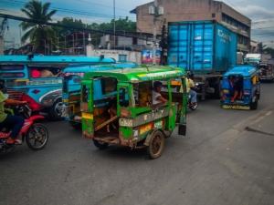 filipiny philippines cagayan de oro kagay tuktuk miasto