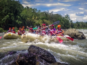filipiny philippines cagayan de oro kagay whitewater rafting