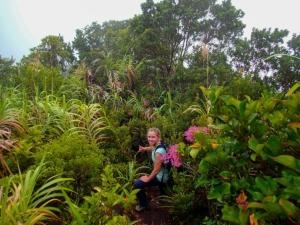 filipiny philippines mount hibok hibok trekking wulkan volcano dzungla jungle