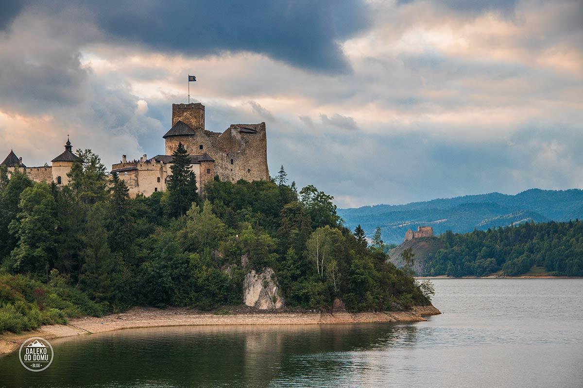 polska 2017 pieniny zamek niedzica jezioro czorsztynskie