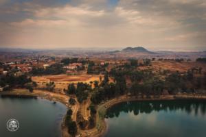 madagaskar madagascar antsirabe lac andraikiba drone