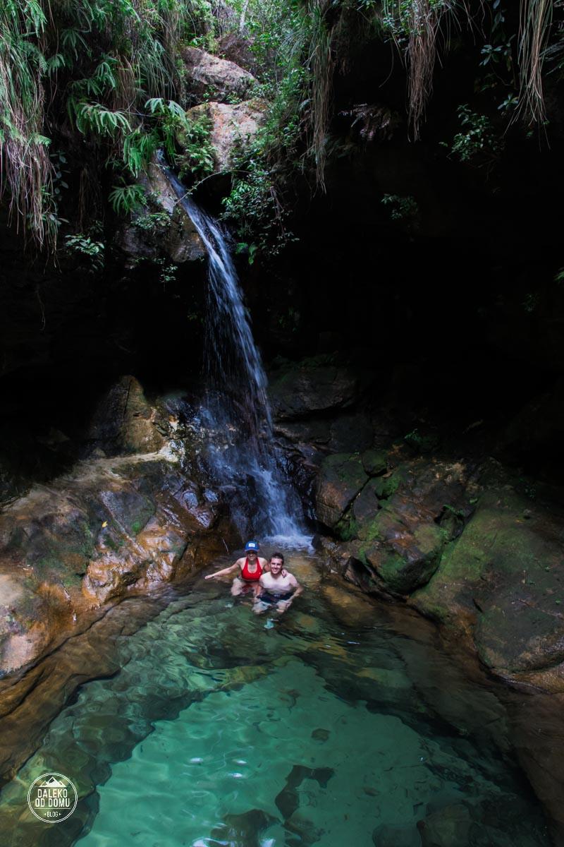 madagaskar madagascar isalo national park namaza trail trekking blue pool