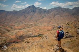 madagaskar madagascar mount chameleon trekking tsaranoro massif droga powrotna