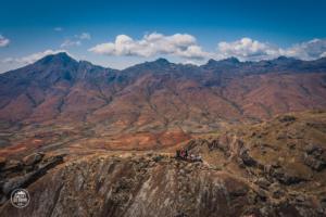 madagaskar madagascar mount chameleon trekking tsaranoro massif szczyt dron andringitra