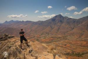 madagaskar madagascar mount chameleon trekking tsaranoro massif szczyt marek