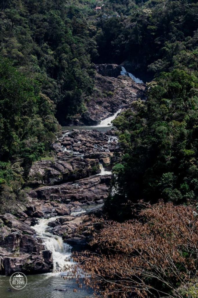 madagaskar madagascar ranomafana wodospad andriamamovoka las deszczowy