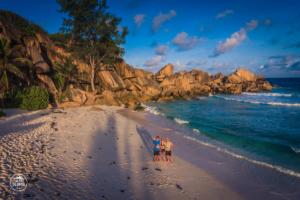 seszele seychelles la digue grand anse dron drone daleko od domu