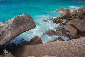 seszele seychelles la digue lazurowa woda