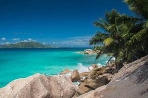 seszele seychelles la digue rajskie widoki palmy