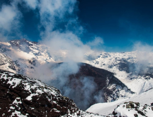 Trekking na wulkan Villarrica w Chile