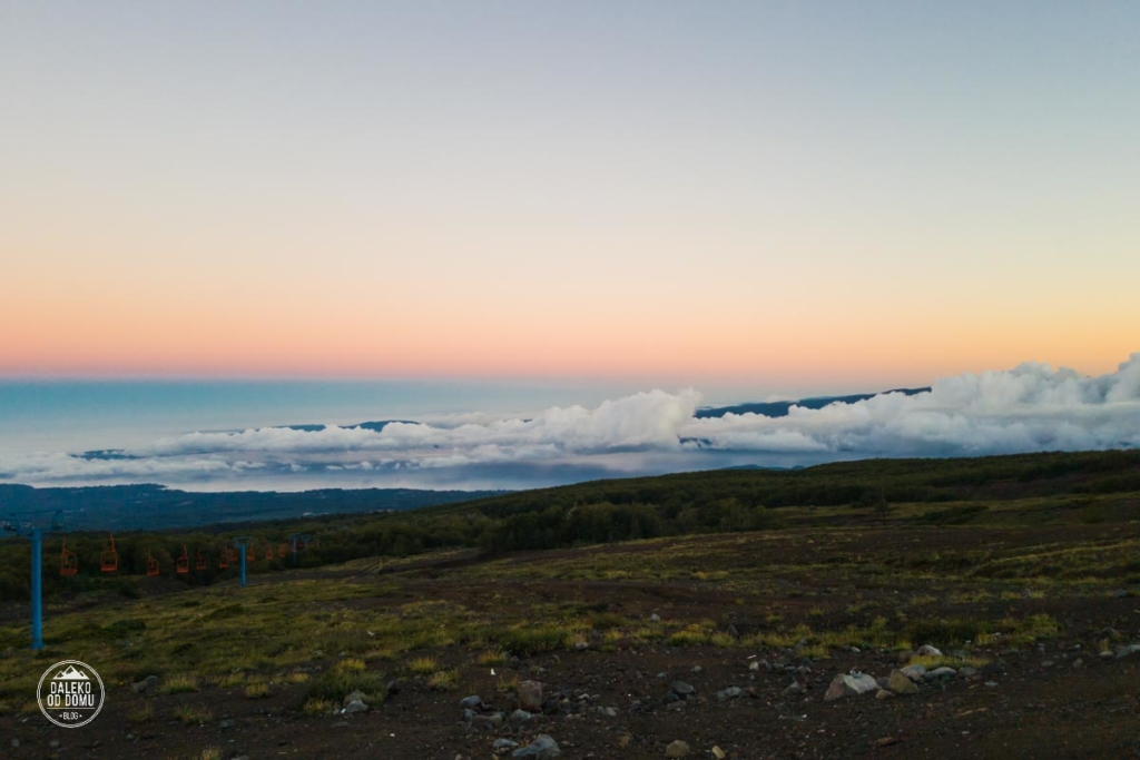 villarrica baza chile pucon trekking wulkan