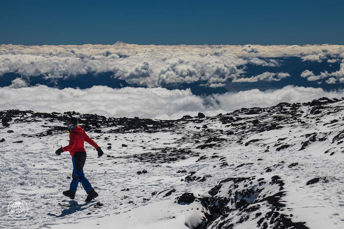 villarrica wulkan trekking chile pucon summit chile
