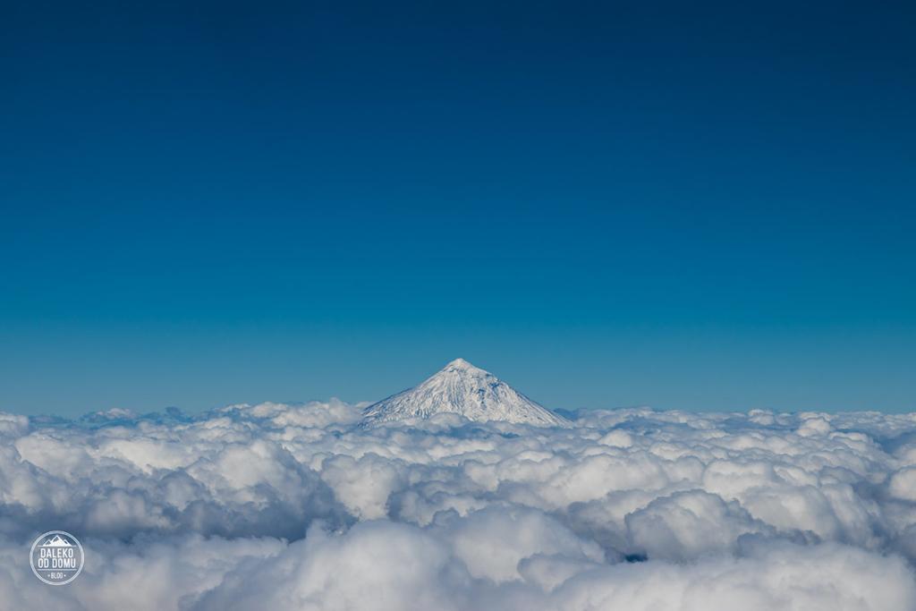 villarrica wulkan trekking chile pucon wulkan w chmurach