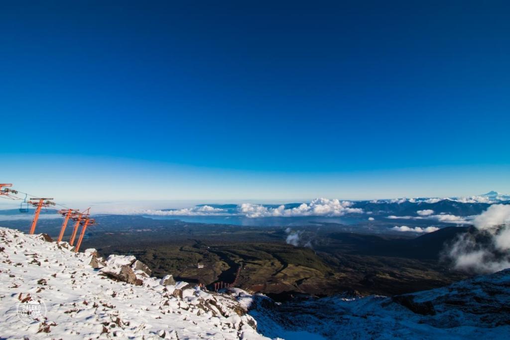 villarrica wyciag chile pucon trekking wulkan