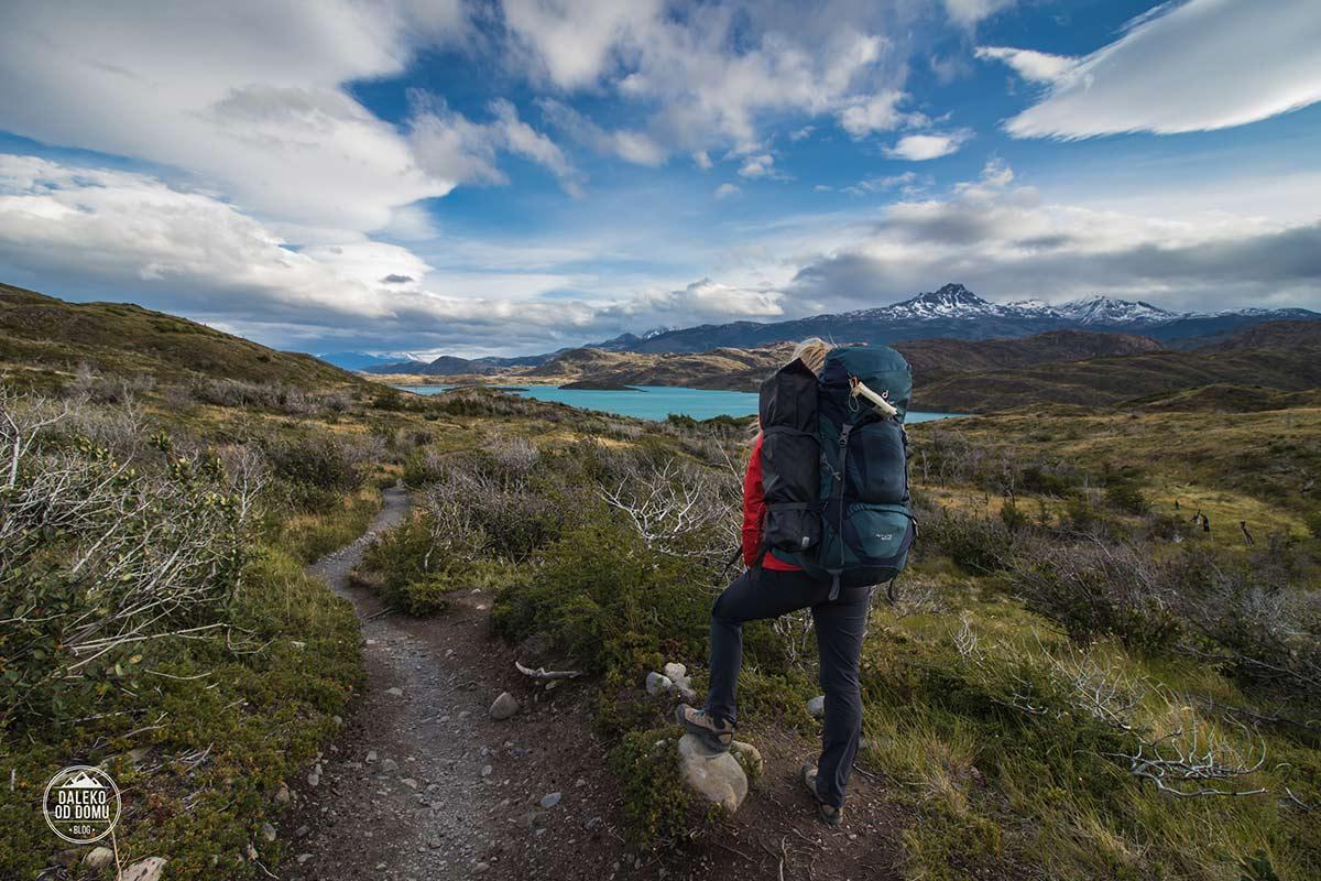 torres del paine chile trekking w dzien3 droga do paine grande patagonia