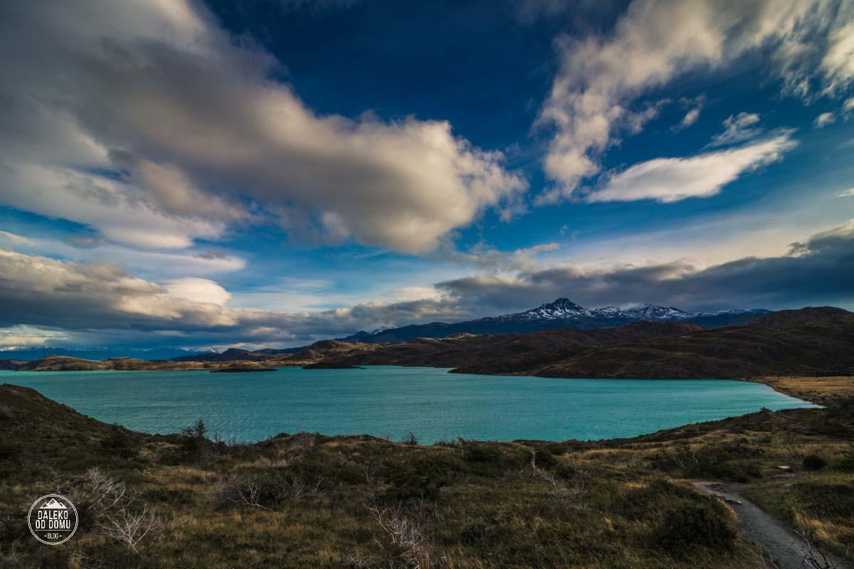 torres del paine patagonia trekking w jezioro pehoe paine grande dzien3