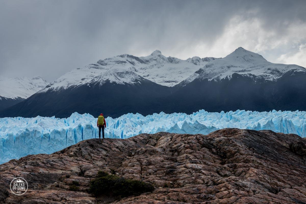 argentyna lodowiec perito moreno trekking big ice asia na skale
