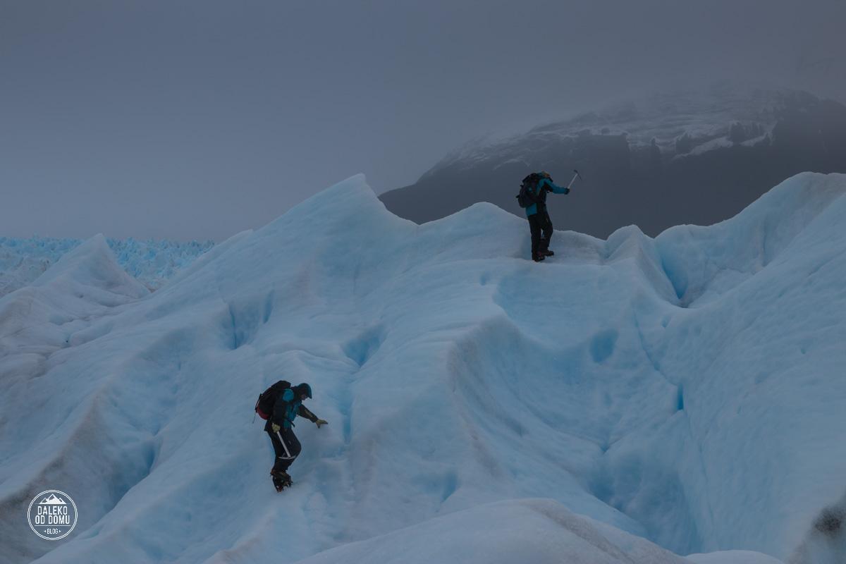 argentyna lodowiec perito moreno trekking big ice droga