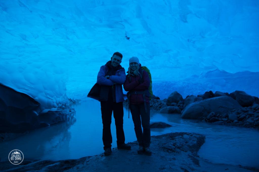 argentyna lodowiec perito moreno trekking big ice jaskinia lodowa