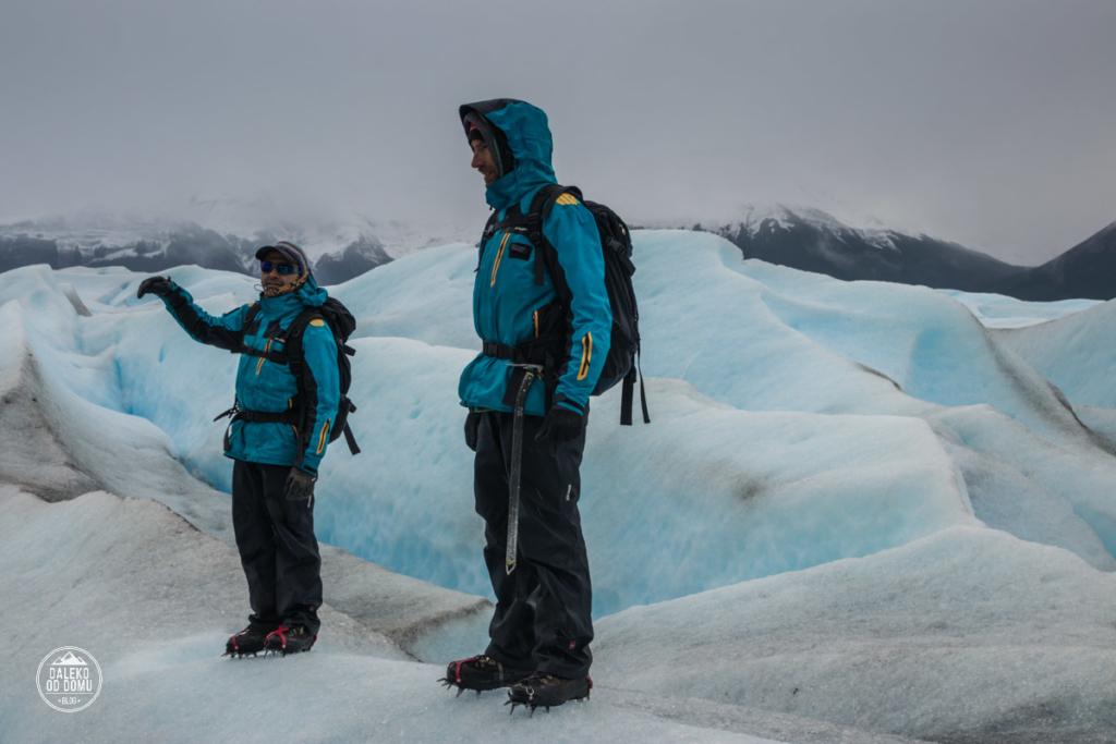 argentyna lodowiec perito moreno trekking big ice przewodnicy hielo y aventura