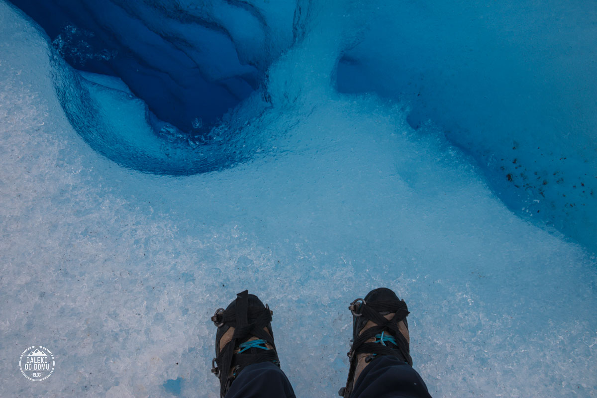argentyna lodowiec perito moreno trekking big ice raki