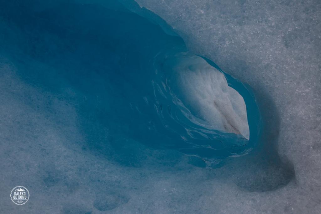 argentyna lodowiec perito moreno trekking big ice szczelina lodowa