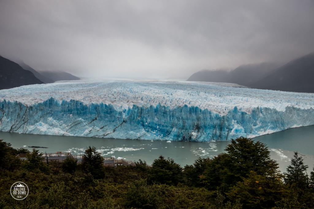 argentyna lodowiec perito moreno trekking big ice widok z platformy